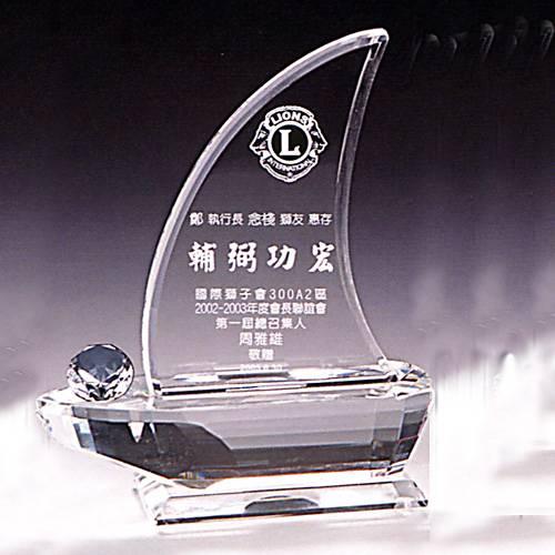 GS-35-STAR 水晶獎牌
